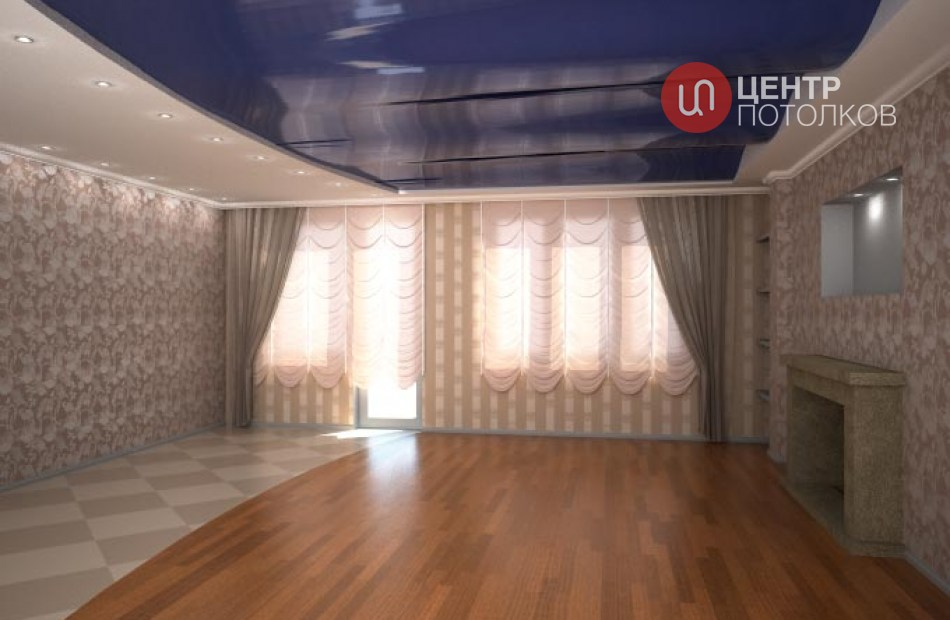 Сложные конструкции потолков